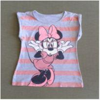 Blusa cinza Minnie - 4 anos - Disney