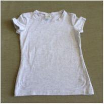Camiseta básica cinza - 6 anos - Malwee