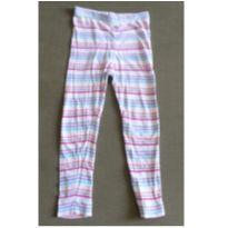 Calça legging listrada (DOAÇÃO) - 3 anos - GAP