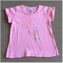 Camiseta menina com balões (DOAÇÃO)