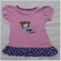 Camiseta menina na janela - 4 anos - Sem marca