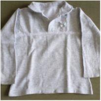 Blusa de moletom cinza - 3 anos - Sem marca