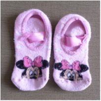 Meia sapatilha Minnie