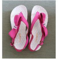 Sandália de dedo com laço - 26 - Pampili