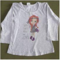 Blusa manga longa Menina - 4 anos - Poim, Cherokee e Up Baby