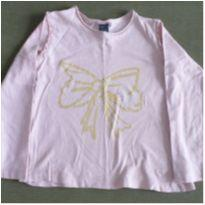 blusa manga longa laço - 3 anos - Zara