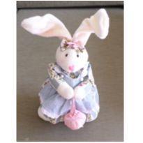Coelha de Pelúcia decorativa em pé -  - Sem marca