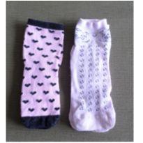 Kit meias estampadas - Único - Sem marca