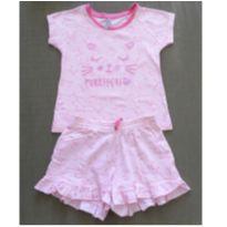 Pijama curto - 4 anos - Accessories