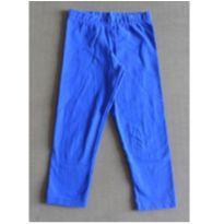 Calça Legging Azul Royal - 8 anos - Malwee