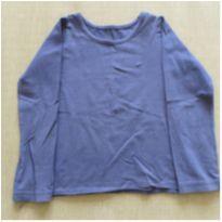 Blusa manga longa azul marinho - 4 anos - Marisol