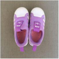 Tênis lilás e branco - 24 - Adidas