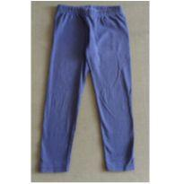 Calça Legging Azul Marinho - 6 anos - Sem marca