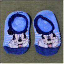 Meia Sapatilha Mickey (DOAÇÃO) - 26 - Disney