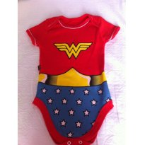BODY SUPER BABY - 6 meses - DC Comics