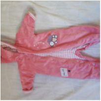 Macacão cor de rosa hiper quentinho Teddyboom - 0 a 3 meses - Teddy Boom