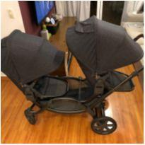 Carrinho de Bebê para Gêmeos Zoom Street  - ABC Design -  - ABC Design