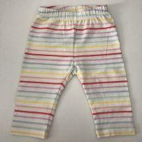 Legging Baby GAP Colorida - 0 a 3 meses - Baby Gap