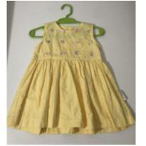 Vestido Little Me Bordado - 6 meses - Little Me