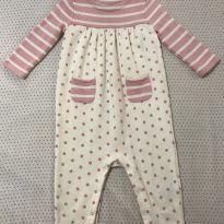 Macacão GAP moletinho - 9 a 12 meses - Baby Gap