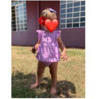 Macacão Body Vestido Bebê menina Carters - 9 a 12 meses - Carter`s