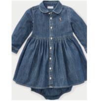 Vestido Jeans Ralph Lauren 18 meses - 18 a 24 meses - Ralph Lauren