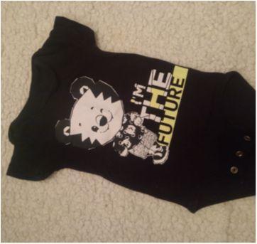 Body Tigor baby - 3 a 6 meses - Tigor T.  Tigre e Tigor Baby