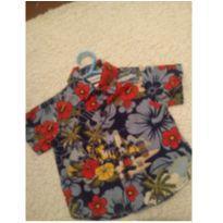 Camisa mickey Hawaii - 6 meses - Disney baby