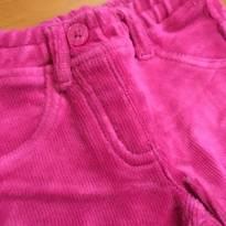 Calça veludo rosa da Benetton Baby (Europa) - 3 a 6 meses - Benetton Baby