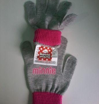 Luvas Minnie Mouse - Sem faixa etaria - Minnie