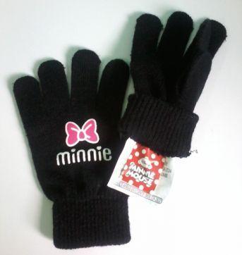 Luvas Minnie Preto - Sem faixa etaria - Minnie
