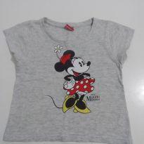 Camiseta Minnie Mouse Mesclada - 3 anos - Disney