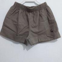 Short Infantil Marrom - 3 anos - Brandili