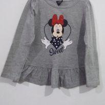 Camiseta Infantil Minnie Mouse - 3 anos - Disney