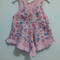 Pijama Infantil Babadinho - 2 anos - Mafessoni