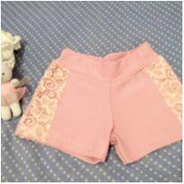Shorts rosa - Quebra Cabeça - 2 anos - Quebra Cabeça