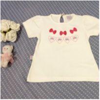 Camiseta Branca - Quebra Cabeça - 3 anos - Quebra Cabeça