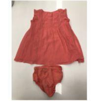 Vestido rosa Gap - 9 a 12 meses - Baby Gap