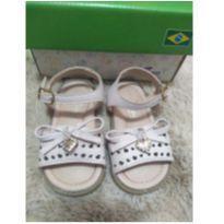 Sandália em couro rosa - 18 - Ortopasso