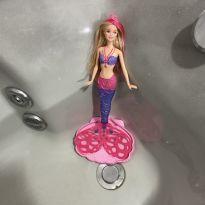 Barbie sereia que faz bolhas -  - Mattel