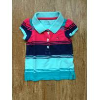 Camiseta Polo Tommy Hilfiger - 3 a 6 meses - Tommy Hilfiger