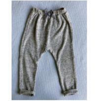 calça zara saurel mescla azul marinho 2t - 2 anos - Zara