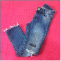 Calça Jeans tam 4 - 4 anos - Não informada