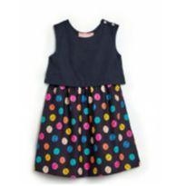 Vestido carinhas - 4 anos - Fábula