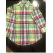 Camisa Xadrez Ralph Lauren - 4 anos - Ralph Lauren