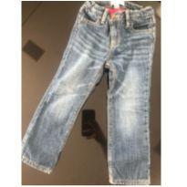 Calça Jeans  FORRADA GAP - Tamanho 3 - 3 anos - GAP
