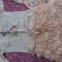 Conjunto saia e blusa pituchinhus - 4 anos - Pituchinhus