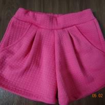Short pink - 4 anos - Não informada