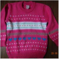Tricô pink - 2 anos - Clarice tricot Infantil