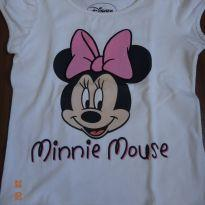 Camiseta Minnie - 2 anos - Disney